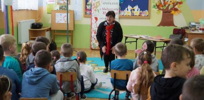 Spotkanie z Panią Małgorzatą Hadław